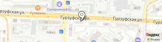 Автомаркет на карте Екатеринбурга