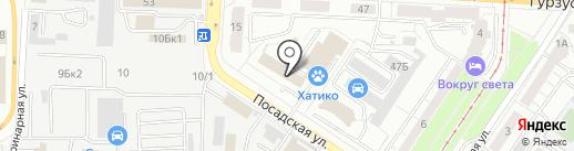 66ДЕТАЛЕЙ.РФ на карте Екатеринбурга