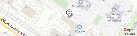 Нефтепромкомплект на карте Екатеринбурга