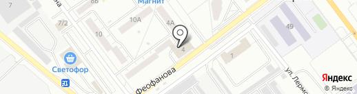Адвокатский кабинет Сорокиной Т.Б. на карте Верхней Пышмы