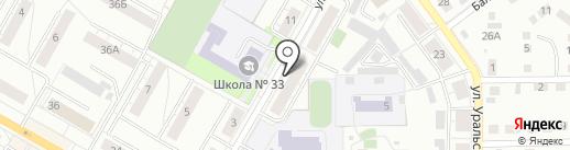 ВЕРДЕН на карте Верхней Пышмы