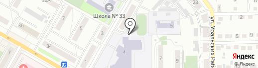 Time Out на карте Верхней Пышмы