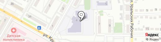 ГИБДД г. Верхняя Пышма на карте Верхней Пышмы