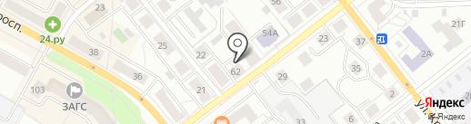 ЕЛЕНА на карте Верхней Пышмы