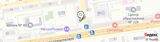 Продуктовый магазин на карте Екатеринбурга