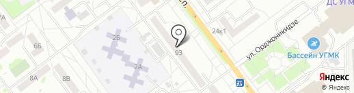 Подростковый клуб им. Ю.Е. Спицына на карте Верхней Пышмы