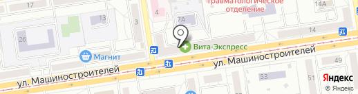 Транс-Вектор на карте Екатеринбурга