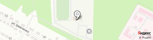 СДЮСШОР по велоспорту на карте Верхней Пышмы