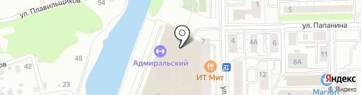 ФАВОРИТ на карте Екатеринбурга