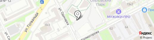 ГОСТ-Запчасть на карте Екатеринбурга