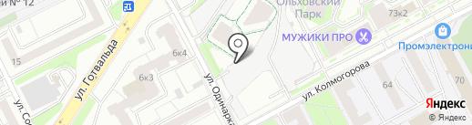URALNIX на карте Екатеринбурга