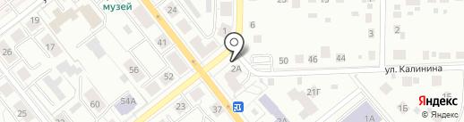 Bzik на карте Верхней Пышмы