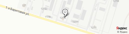 Фикс Поинт Урал на карте Екатеринбурга