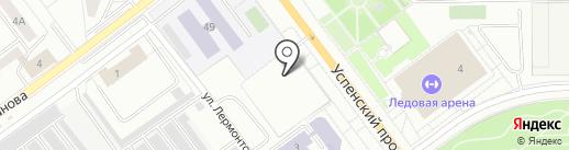 Центр гигиены и эпидемиологии в Свердловской области на карте Верхней Пышмы