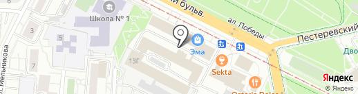 ПрофиКарпет на карте Екатеринбурга