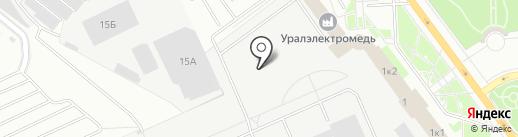 Эн Эйч Инжиниринг на карте Верхней Пышмы