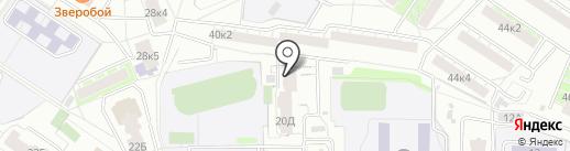 Студия йоги на Ясной Поляне на карте Екатеринбурга