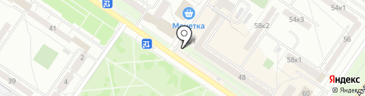 Киоск по продаже хлебобулочных изделий на карте Екатеринбурга