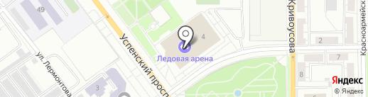 Ледовая арена им. Александра Козицына на карте Верхней Пышмы