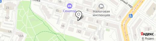 АТОН-Экобезопасность и охрана труда на карте Екатеринбурга