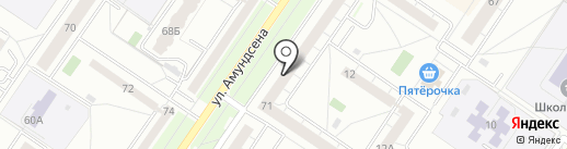 Кристина на карте Екатеринбурга