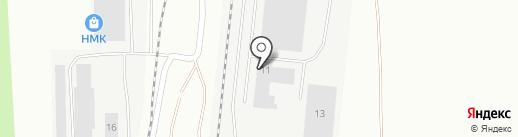 Пятый Элемент на карте Верхней Пышмы