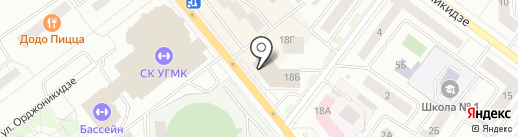 Банкомат, СКБ-банк, ПАО на карте Верхней Пышмы