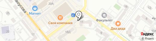 ZEON на карте Верхней Пышмы
