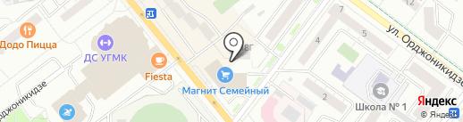 Сушкоф на карте Верхней Пышмы