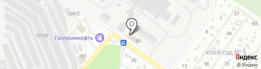 Баркилье, НП на карте Екатеринбурга