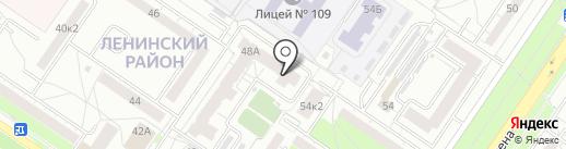 Клуб робототехники на карте Екатеринбурга