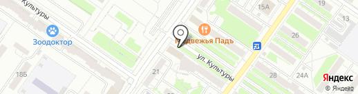 Монетка на карте Екатеринбурга