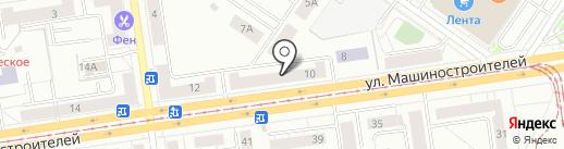Платежный терминал, Банк ВТБ 24, ПАО на карте Екатеринбурга