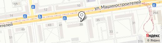 КАМИН на карте Екатеринбурга