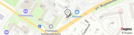 Отдел полиции на карте Екатеринбурга