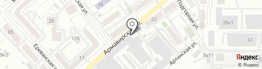 Промстрой на карте Екатеринбурга
