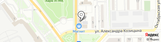 АТТ-Логистик на карте Верхней Пышмы
