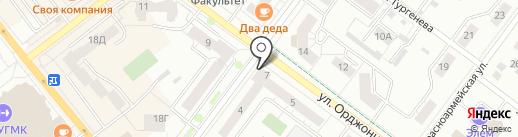 Русская рыбалка на карте Верхней Пышмы