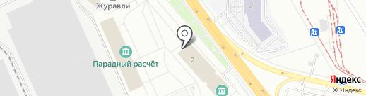 Буфет на карте Верхней Пышмы