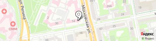 Региональный центр содействия охранным структурам, ЧУ на карте Екатеринбурга