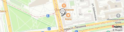 Лабиринт.ру на карте Екатеринбурга
