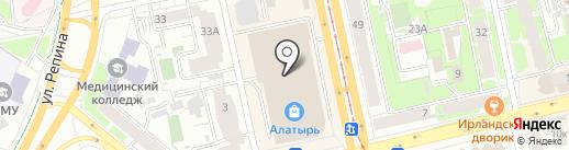 Yummy frozen на карте Екатеринбурга