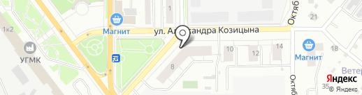 AUTODOC.RU на карте Верхней Пышмы