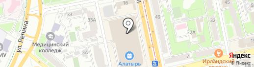 Аттракцион виртуальной реальности на карте Екатеринбурга
