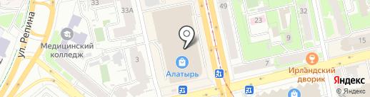 Paese на карте Екатеринбурга