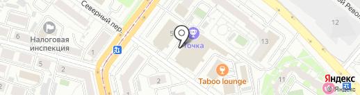 ДИАБЕТИКА на карте Екатеринбурга