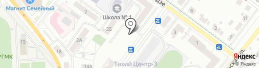 Дума городского округа Верхняя Пышма на карте Верхней Пышмы