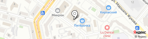 Система на карте Екатеринбурга