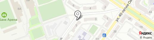 Гросстрой на карте Екатеринбурга
