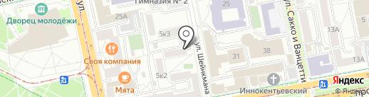 СЕЗОННОЕ ХРАНЕНИЕ.РФ на карте Екатеринбурга